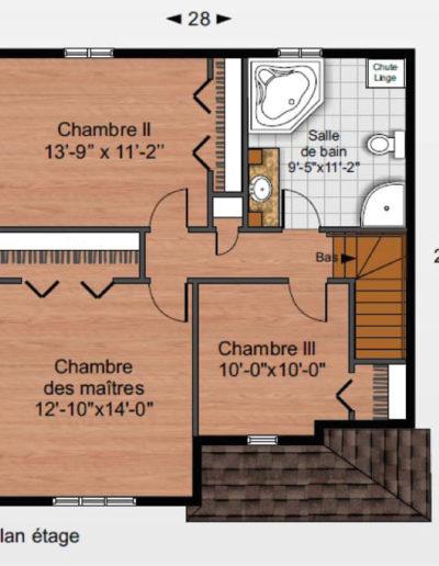 Construction-Mario-Dion_Modele-Gauthier-Plan-Etage-01